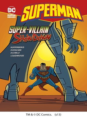 cover image of Super-Villain Showdown
