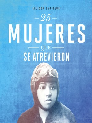 cover image of 25 mujeres que se atrevieron