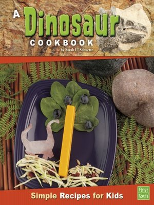 cover image of A Dinosaur Cookbook