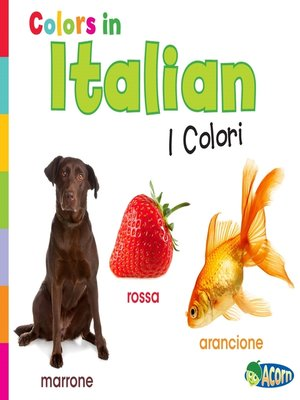 cover image of Colors in Italian