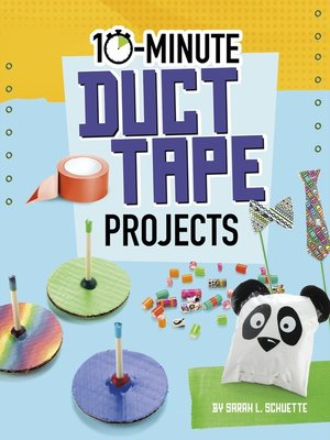 cover image of 10-Minute Duct Tape Projects