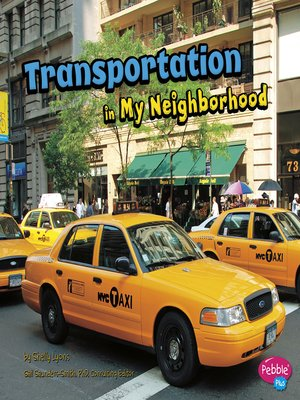 cover image of Transportation in My Neighborhood