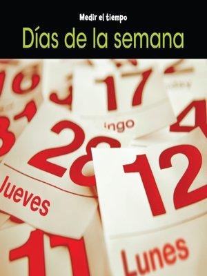 cover image of Días de la semana