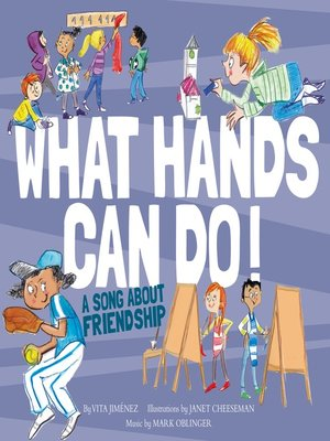 cover image of What Hands Can Do!