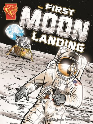 cover image of The First Moon Landing