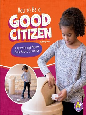 cover image of How to Be a Good Citizen