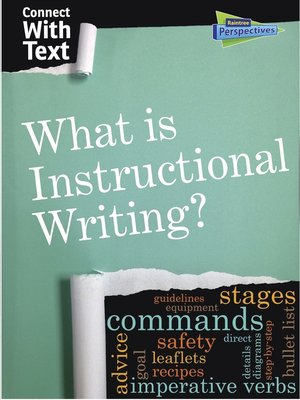 cover image of What is Instructional Writing?