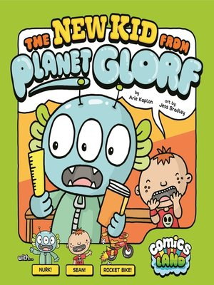 cover image of The New Kid from Planet Glorf