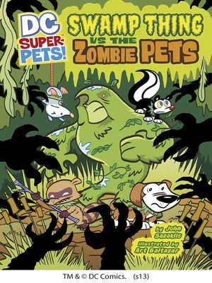 cover image of Swamp Thing vs the Zombie Pets