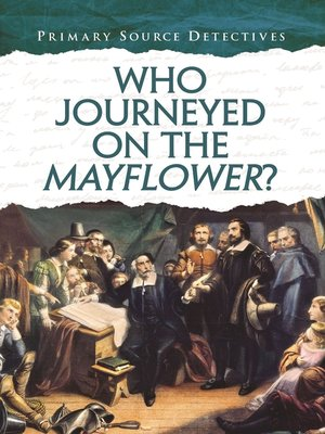 cover image of Who Journeyed on the Mayflower?