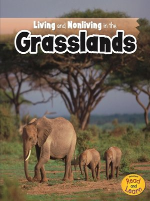 cover image of Living and Nonliving in the Grasslands