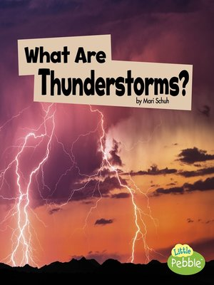 cover image of What Are Thunderstorms?