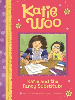 cover image of Katie and the Fancy Substitute