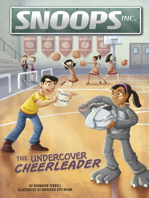 cover image of The Undercover Cheerleader