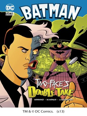 cover image of Two-Face's Double Take