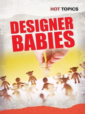 cover image of Designer Babies