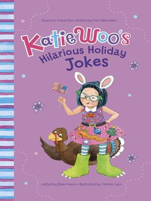 cover image of Katie Woo's Hilarious Holiday Jokes