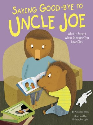 cover image of Saying Good-bye to Uncle Joe