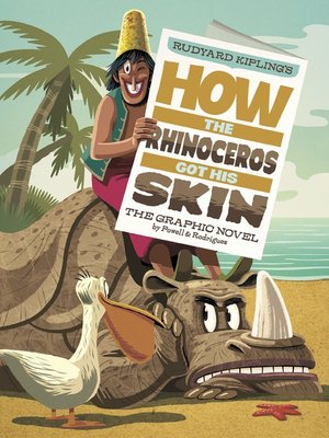 cover image of How the Rhinoceros Got His Skin