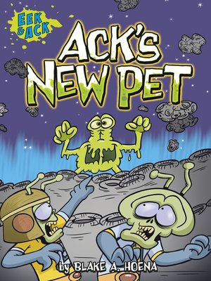cover image of Ack's New Pet
