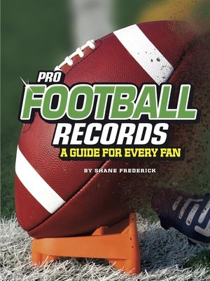 cover image of Pro Football Records