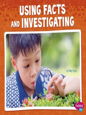 cover image of Using Facts and Investigating