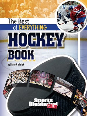 cover image of The Best of Everything Hockey Book