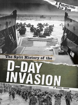 cover image of The Split History of the D-Day Invasion