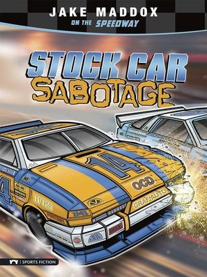 cover image of Stock Car Sabotage