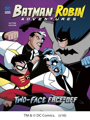 cover image of Two-Face Face-Off
