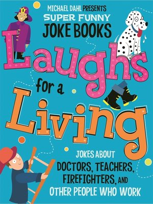 cover image of Laughs for a Living