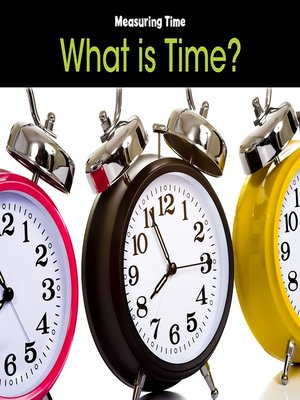 cover image of What is Time?