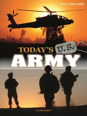 cover image of Today's U.S. Army