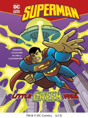cover image of Little Green Men