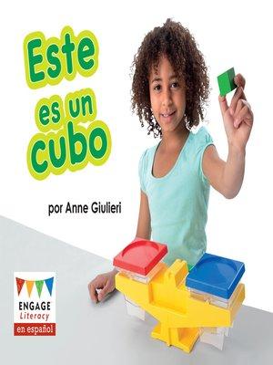 cover image of Este es un cubo