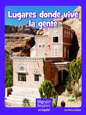 cover image of Lugares donde vive la gente