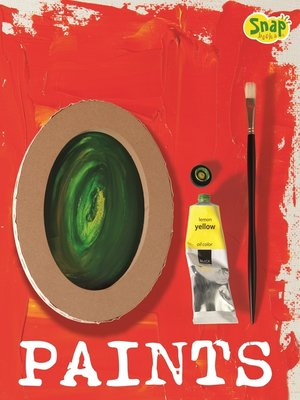 cover image of Oil Paints