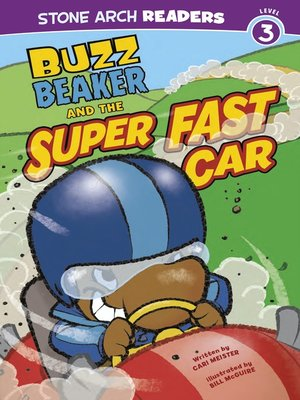 cover image of Buzz Beaker and the Super Fast Car