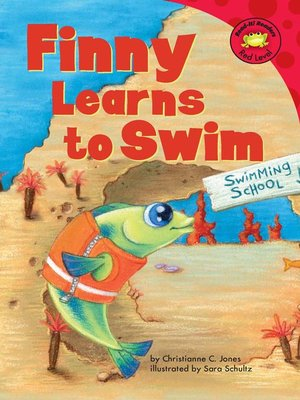 cover image of Finny Learns to Swim