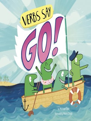 """cover image of Verbs Say """"Go!"""""""