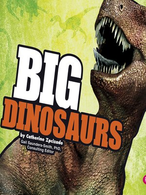 cover image of BIG Dinosaurs