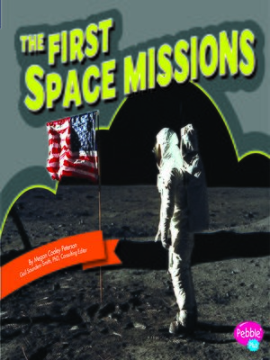 cover image of The First Space Missions