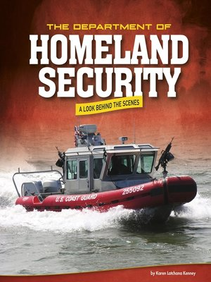 cover image of The Department of Homeland Security