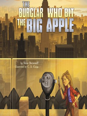 cover image of The Burglar Who Bit the Big Apple