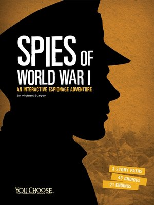cover image of Spies of World War I