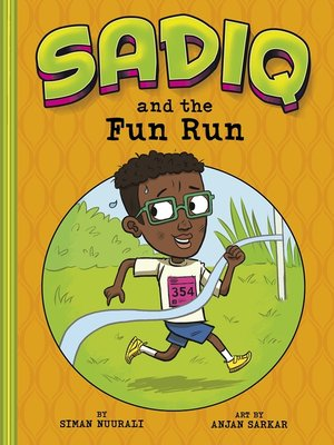 cover image of Sadiq and the Fun Run