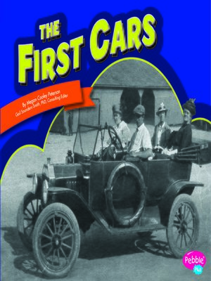 cover image of The First Cars