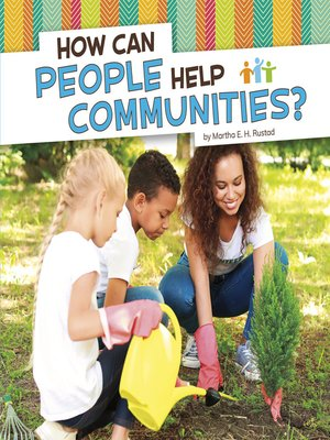 cover image of How Can People Help Communities?