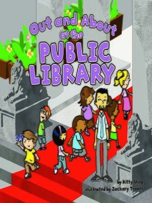 cover image of Out and About at the Public Library