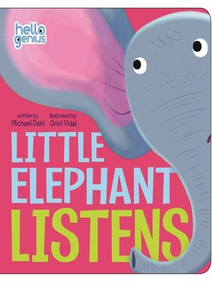 cover image of Little Elephant Listens